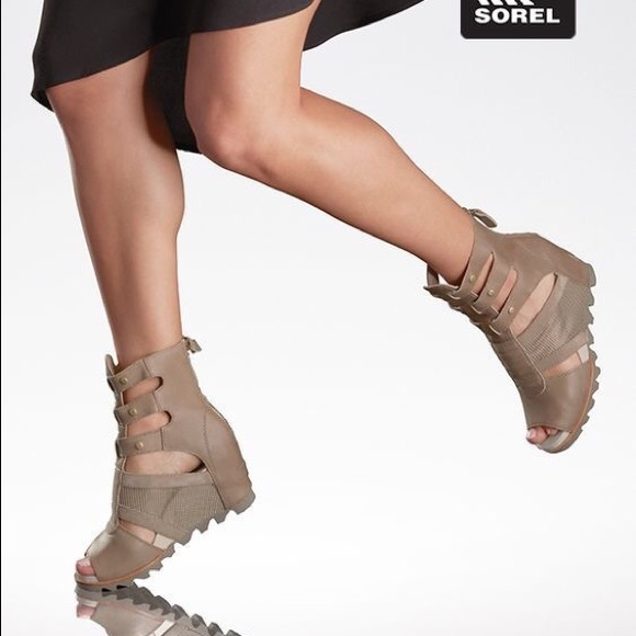 38a15865f03 Sorel Joanie Wedge Sandals